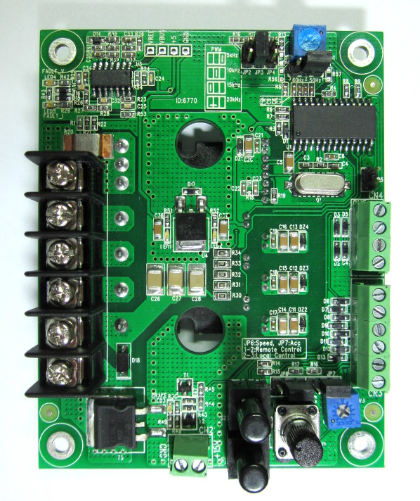Induction motor speed control inverter module for Speed control of induction motor